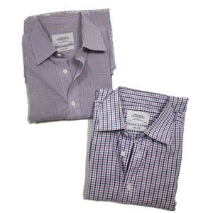 Lot of 2 Charles Tyrwhitt  Slim Fit Shirts